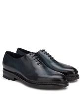 Ботинки Santoni MCC015187 100% кожа Синий Италия изображение 0
