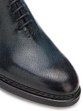 Ботинки Santoni MCC015187 100% кожа Синий Италия изображение 4
