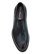 Ботинки Santoni MCC015187 100% кожа Синий Италия изображение 5