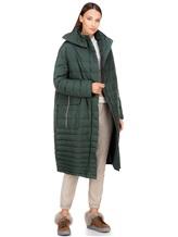 Пальто EREDA 18WEDC0800 57% полиамид, 43% полиэстер Зеленый Италия изображение 0
