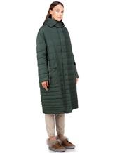 Пальто EREDA 18WEDC0800 57% полиамид, 43% полиэстер Зеленый Италия изображение 2