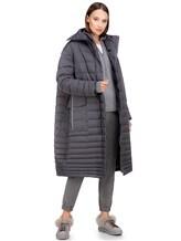 Пальто EREDA 18WEDC0800 57% полиамид, 43% полиэстер Серый Италия изображение 0