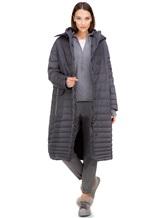 Пальто EREDA 18WEDC0800 57% полиамид, 43% полиэстер Серый Италия изображение 1