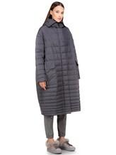 Пальто EREDA 18WEDC0800 57% полиамид, 43% полиэстер Серый Италия изображение 3