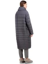 Пальто EREDA 18WEDC0800 57% полиамид, 43% полиэстер Серый Италия изображение 4