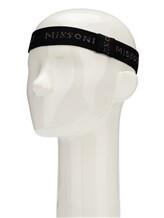 Повязка Missoni MBS00006 50% нейлон, 50% полиэстер Черный Италия изображение 2
