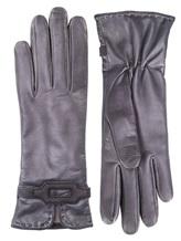 Перчатки Piero Restelli 0135 100% кожа Темно-серый Италия изображение 0