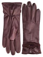 Перчатки Piero Restelli 0135 100% кожа Бордовый Италия изображение 0