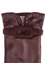 Перчатки Piero Restelli 0135 100% кожа Бордовый Италия изображение 1