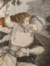 Палантин Faliero Sarti 2152 100% кашемир Серый Италия изображение 1