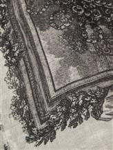 Палантин Faliero Sarti 2152 100% кашемир Серый Италия изображение 3