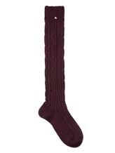 Носки Lorena Antoniazzi LP3463CLZ2 60% шерсть, 30% кашемир, 10% нейлон Бордовый Италия изображение 0