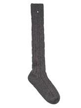 Носки Lorena Antoniazzi LP3463CLZ2 60% шерсть, 30% кашемир, 10% нейлон Серый Италия изображение 0