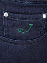 Джинсы Jacob Cohen J620 C0MF 59% хлопок, 32% шерсть, 7% полиэстер, 2% эластан Темно-синий Италия изображение 4
