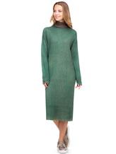 Платье WLNS WELLNESS CASHMERE M01287 100% кашемир Зеленый Италия изображение 0
