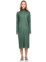 Платье WLNS WELLNESS CASHMERE M01287 100% кашемир Зеленый Италия изображение 1