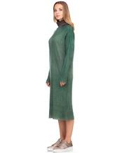 Платье WLNS WELLNESS CASHMERE M01287 100% кашемир Зеленый Италия изображение 2