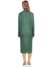 Платье WLNS WELLNESS CASHMERE M01287 100% кашемир Зеленый Италия изображение 3