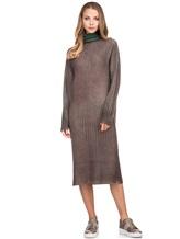 Платье WLNS WELLNESS CASHMERE M01287 100% кашемир Зеленый Италия изображение 5