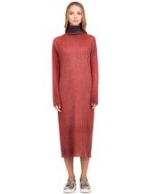 Платье WLNS WELLNESS CASHMERE M01287 100% кашемир Терракотовый Италия изображение 1