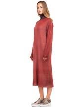Платье WLNS WELLNESS CASHMERE M01287 100% кашемир Терракотовый Италия изображение 2