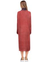 Платье WLNS WELLNESS CASHMERE M01287 100% кашемир Терракотовый Италия изображение 3