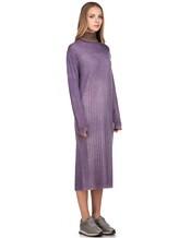 Платье WLNS WELLNESS CASHMERE M01287 100% кашемир Сиреневый Италия изображение 2
