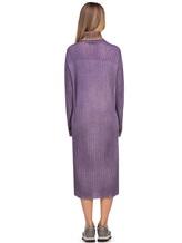 Платье WLNS WELLNESS CASHMERE M01287 100% кашемир Сиреневый Италия изображение 3