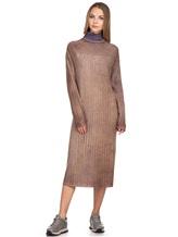 Платье WLNS WELLNESS CASHMERE M01287 100% кашемир Сиреневый Италия изображение 5