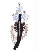 Брошь Albino Teodoro   AC0177 85% стекло, 15% латунь Голубой Италия изображение 1