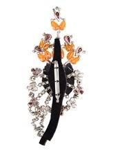 Брошь Albino Teodoro   AC0177 85% стекло, 15% латунь Оранжевый Италия изображение 1