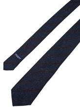 Галстук Fabio Toma TIE SILVER 100% шерсть Темно-синий Италия изображение 1