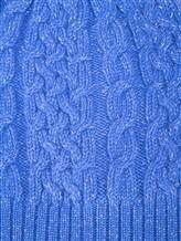 Шапка Les Copains 0LA110 100% кашемир Голубой Италия изображение 1