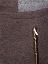 Брюки Capobianco 5M719 90% хлопок, 8% кашемир, 2% полиамид Коричневый Италия изображение 4