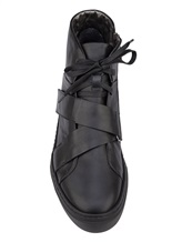 Кеды Henry Beguelin SU3607 100% кожа Черный Италия изображение 4