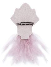 Брошь Lorena Antoniazzi LP3488SP1 100% латунь Серо-розовый Италия изображение 1