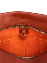 Сумка Agnona PB100X 100% кожа Рыжий Италия изображение 12