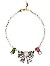 Ожерелье Les Copains 0LA270 65% стекло, 30% латунь, 5% пластик Жемчужный Италия изображение 0