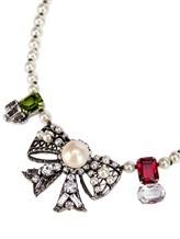 Ожерелье Les Copains 0LA270 65% стекло, 30% латунь, 5% пластик Жемчужный Италия изображение 1