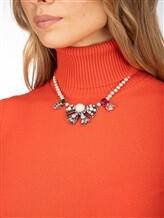 Ожерелье Les Copains 0LA270 65% стекло, 30% латунь, 5% пластик Жемчужный Италия изображение 2