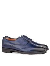Ботинки Santoni MCC014272 100% кожа Темно-синий Италия изображение 0