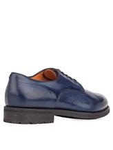 Ботинки Santoni MCC014272 100% кожа Темно-синий Италия изображение 3