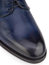Ботинки Santoni MCC014272 100% кожа Темно-синий Италия изображение 5