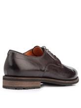 Ботинки Santoni MCC014272 100% кожа Темно-коричневый Италия изображение 3