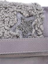 Сумка Lorena Antoniazzi LM34178B05 100% кожа Серый Италия изображение 6