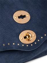 Сумка ZANELLATO 06381 100% кожа Темно-синий Италия изображение 4