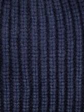 Шапка IRISvARNIM 183901 100% кашемир Темно-синий Италия изображение 1