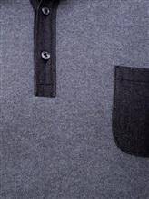 Поло FIORONI M17308C1 55% шерсть, 30% шёлк, 15% кашемир Серый Италия изображение 4