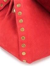 Сумка ZANELLATO 06138 100% кожа Красный Италия изображение 4