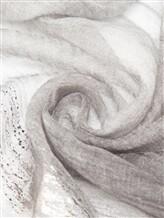 Палантин Agnona AS413Y 100% кашемир Серый Италия изображение 1